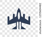 air force icon. trendy air... | Shutterstock .eps vector #1255604482