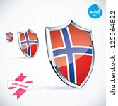 i love norway flag illustration ...