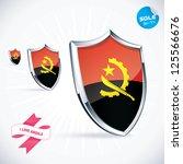 i love angola flag illustration ...