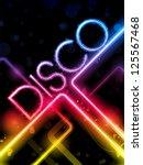 Vector   Disco Abstract...