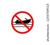 forbidden boat icon can be used ...