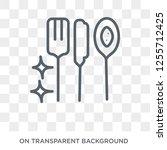 food hygiene icon. food hygiene ... | Shutterstock .eps vector #1255712425