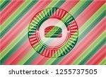 cheeseburger icon inside... | Shutterstock .eps vector #1255737505