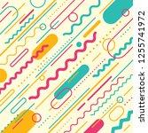 modern pattern design in... | Shutterstock .eps vector #1255741972