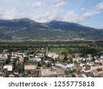 vaduz  liechtenstein on august... | Shutterstock . vector #1255775818