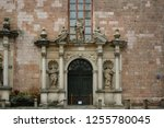 Fragment Of The Facade With The ...