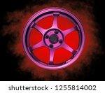 wheel alloy die casting... | Shutterstock . vector #1255814002