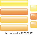 set of seven glossy web buttons ... | Shutterstock .eps vector #12558217