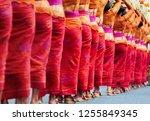 group of beautiful balinese... | Shutterstock . vector #1255849345
