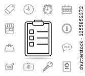checklist icon. element of...