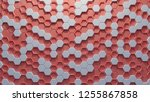 hexagon abstract on  living... | Shutterstock . vector #1255867858
