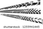 vector print textured tire... | Shutterstock .eps vector #1255941445