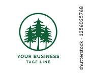tree logo concept | Shutterstock .eps vector #1256035768