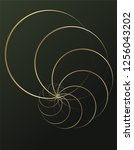 Abstract Geometry. Golden Ratio ...