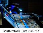 broadcast audio and video... | Shutterstock . vector #1256100715