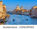 Grand Canal With Basilica Di...
