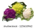 Tris Of Fresh Cauliflower On...