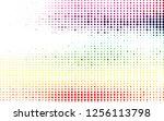 light multicolor  rainbow... | Shutterstock .eps vector #1256113798