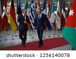 brussels  belgium. 12th dec....   Shutterstock . vector #1256140078