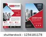 brochure template layout  cover ... | Shutterstock .eps vector #1256181178