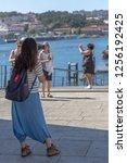 porto portugal   10 01 2018 ... | Shutterstock . vector #1256192425