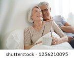 portrait of senior couple...   Shutterstock . vector #1256210095