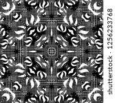 seamless pattern handkerchief...   Shutterstock . vector #1256233768