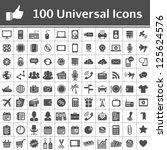 100 Universal Icons. Simplus...