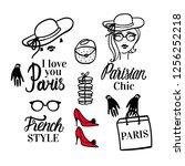 Set Paris Lettering Type....