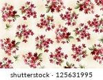 floral design background ... | Shutterstock . vector #125631995