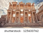 Library Of Celsus At Ephesus...