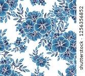 abstract elegance seamless... | Shutterstock . vector #1256356852