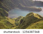 panoramic view point... | Shutterstock . vector #1256387368