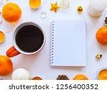 home office workspace mockup... | Shutterstock . vector #1256400352