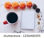home office workspace mockup... | Shutterstock . vector #1256400355