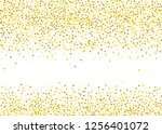 background with golden glitter  ... | Shutterstock .eps vector #1256401072