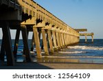 Pier At Tybee Island  Ga