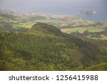 panoramic view point... | Shutterstock . vector #1256415988