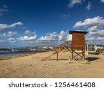 Closed Beach Rescue Tower