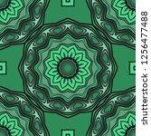 modern decorative seamless... | Shutterstock .eps vector #1256477488