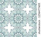 design for square fashion print.... | Shutterstock .eps vector #1256477605