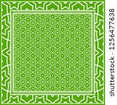 template print for fabric.... | Shutterstock .eps vector #1256477638