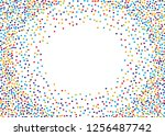 festival pattern with color... | Shutterstock .eps vector #1256487742