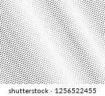 halftone background. fade... | Shutterstock .eps vector #1256522455