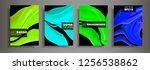modern design a4.abstract...   Shutterstock .eps vector #1256538862