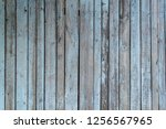 texture of old wooden fence... | Shutterstock . vector #1256567965