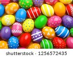 Many Decorated Easter Eggs As...