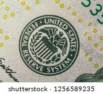 united states federal reserve...   Shutterstock . vector #1256589235