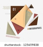 modern abstract banner design... | Shutterstock .eps vector #125659838