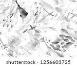 boho kaleidoscope abstract... | Shutterstock . vector #1256603725